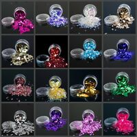 Chunky Festival Glitter Pots Bag For Face Body Eyeshadow Tattoo Party Nails Art