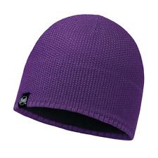 Buff - Laska - Knitted & Polar Hat - Plum