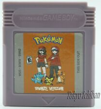 Jeu Nintendo Game Boy Pokemon Version Bronze - GBC GBA SP DMG 01 Color