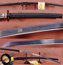 HAND FORGED JAPANESE NoDachi SWORD KATANA FOLDED STEEL FULL TANG BLADE SHARP