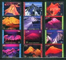 UN - ALL 3 OFFICES 2002 International Year of Mountains, Se-Tenant Strip Set NH