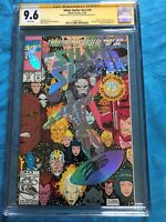 Silver Surfer #75 - Marvel - CGC SS 9.6 NM+ - Signed by Ron Lim, Ron Marz
