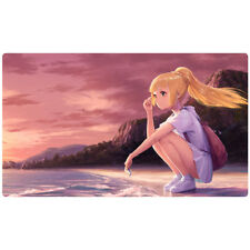FREE SHIPPING Custom Pokemon Playmat Lillie (Full Art) Play Mat Ultra