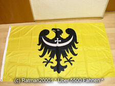 Fahnen Flagge Niederschlesien Woiwodschaft Polen Digitaldruck - 90 x 150 cm