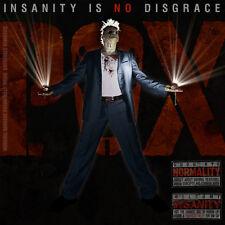 THE P.O.X. - Insanity Is No Disgrace - LP NEU - Red Vinyl
