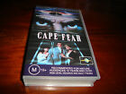 CAPE FEAR - ROBERT DE NIRO, NICK NOLTE - VHS VIDEO