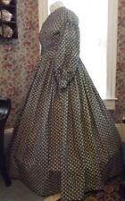 Victorian Attire Civil War 1pc Dress Your Color/Size Repro Costume U buy fabric