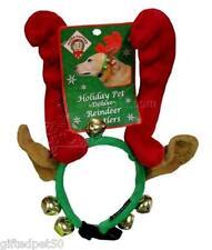 Holiday Deluxe Reindeer Antlers with Bells