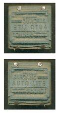 Vintage printing plate Auto-Lite Electric Service  L212