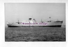 pf1832 - Irish Shipping Cargo Ship - Irish Larch , built 1956 - photograph