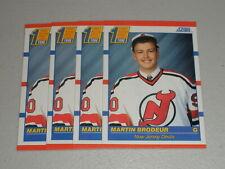 1990-91 Score Martin Brodeur #439 RC Rookie Lot of 4