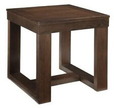 Signature Design by Ashley T481-2 Watson Square End Table-Distressed Brown