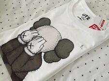 Kaws Uniqlo Men's Companion T-shirt Size Large Japan Rare Size Tee Bape Supreme