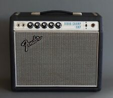 Fender Vibro Champ Amplifier 1968 Drip Edge Vintage Guitar Amp