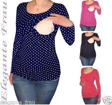 3 in1 Stillshirt Umstands Shirt LANGARM,Tunika Stilltop Stillbluse f. Leggings !