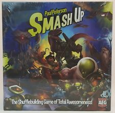 Paul Peterson SMASH UP The Shufflebuilding Game of Total Awesomeness ~NEW~ AEG