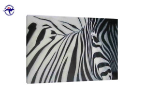 Oil Painting - Zebra - CLEARANCE SALE - $ 1 Auction Bargain