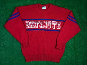NFL Authentic Pro Line by Cliff Engle NE Patriots Sweater M/L