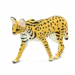 Safari ltd 100237 Serval 9 CM Series Wild Animals Novelty 2019