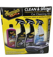 Meguiar's Clean and Shine Kit - Premium Interior/Exterior Car Cleaning Kit