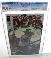 THE WALKING DEAD #1 2013 Portland Wizard World Comic Con Variant CGC 9.4 NM