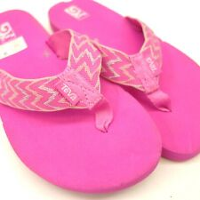 New Teva Mush II US 5 EU 37 Lush Foam Flip Flop Sandals Pretty Pink Womens Shoes