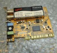 Genuine LifeView PAL D/K - PAL I LR138 REV: 1 PCI TV Capture Tuner Card