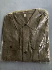 New Ibex Men's Wool Blend North Star Shirt, Charcoal Heather, Medium Size
