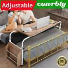 Mobile & Adjustable Over Bed Laptop Portable Computer Side Desk Sit Stand Table