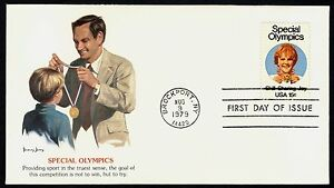 #1788 15c Special Olympics, Fleetwood FDC **ANY 4=FREE SHIPPING**