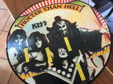 kiss hotter than hell rare picture disc