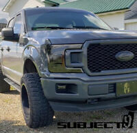 18-20 Ford F150 precut TAIL & HEADlight tint vinyl smoked covers $5 refund avail