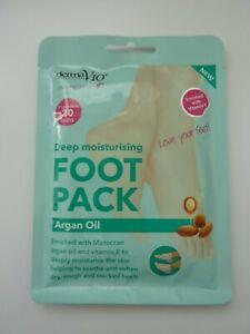 ARGAN OIL Deep Moisturising Foot Pack NEW