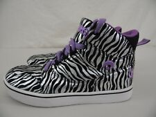 "OSIRIS ""Zebra Sol"" Womens 5 / 37 Lavender, Silver, Black Basketball Shoes 2015"