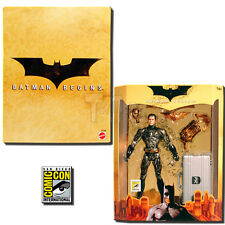 SDCC 2005 Mattel Exclusive: Batman Begins: BRUCE WAYNE Action Figure, NEW MIB