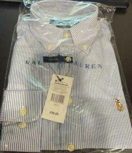 Men's Long Sleeve Ralph Lauren slim fits non iron  Shirt  on sale