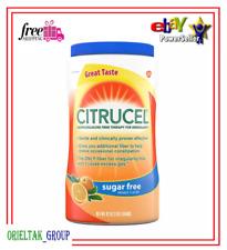 Citrucel Powder Fiber Sugar-Free Orange Flavor Fiber 42 oz