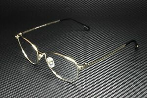 VERSACE VE1253 1252 Pale Gold Demo Lens 54 mm Women's Eyeglasses