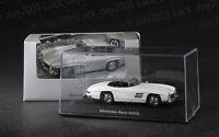 Mercedes-Benz 300SL Roadster White Color 1/43 Diecast Model