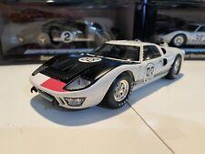 1966 Ford GT-40 MK II #98 White Ken Miles 66' Daytona Victory 1/18 Scale Diecast