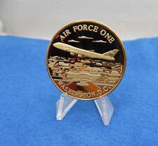 "AIR FORCE ONE PRESIDENTIAL AIRCRAFT WASHINGTON D.C. 1.50"" GP Challenge Coin"