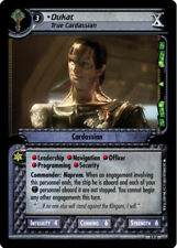 Star Trek 2E: Dukat, True Cardassian [Lightly Played] 10th Anniversary Collectio