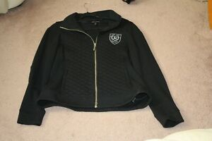 New Black Noel Asmar Equestrian Jacket - Large