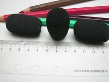 1 Windschutz Windscreen für für Mikrofon aus Schaumstoff  40x24 34x8 mm