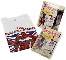 ROLLING STONES - LIVE IN LEEDS ; very rare Japanese Box Set - DVD, 2-CD + T-Shir