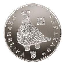CROATIA SILVER COIN-150 Kuna 1997 Vukovar- SILVER 90 %, 24 GRAMS, PROFF, NEW !