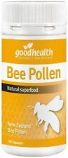 Good Health Bee Pollen Capsules ( 100 )  PURE NEW ZEALAND  Free Shipping
