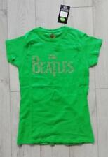 Official The Beatles Women's green t-shirt size M new with tag #59