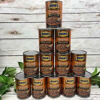 Bushs Best Original Baked Beans 12  16.5 oz Cans Bacon Brown Sugar 98% Fat Free