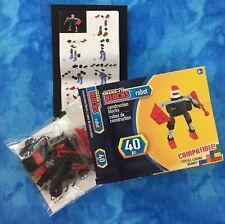Make-It Blocks, Multi Colored Robot 40 Pc. Fits All Leading Brands, Age 6+, Nib